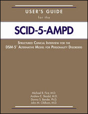 Users Guide for the Structured Clinical Interview for the DSM-5 Alternative Model for Personality Di
