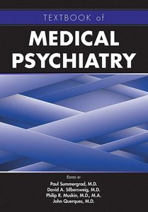 Cover of Textbook of Medical Psychiatry
