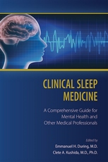 Cover of Clinical Sleep Medicine