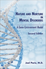 Cover of Nature and Nurture in Mental Disorders