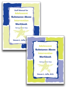 SET of Adolescent Substance Intervention Workbook and Staff Manual