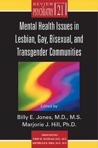 Mental Health Issues in Lesbian Gay Bisexual and Transgender Communities