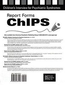 Report Forms for ChIPS