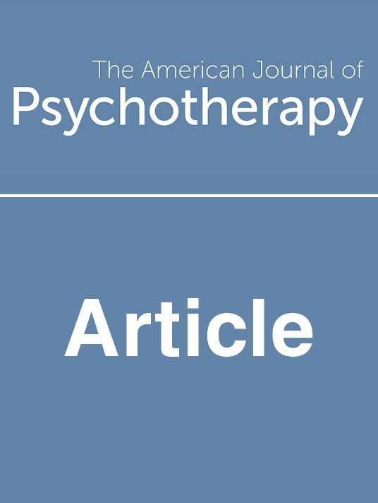 American Journal of Psychotherapy Pay Per View Subscription